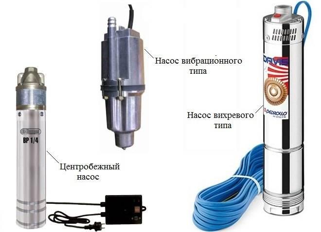 Технические характеристики скважинных насосов
