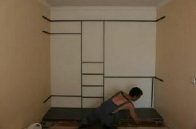 Как сделать шкаф своими руками: пошаговая инструкция изготовления и советы как построить шкаф от а до я (105 фото)