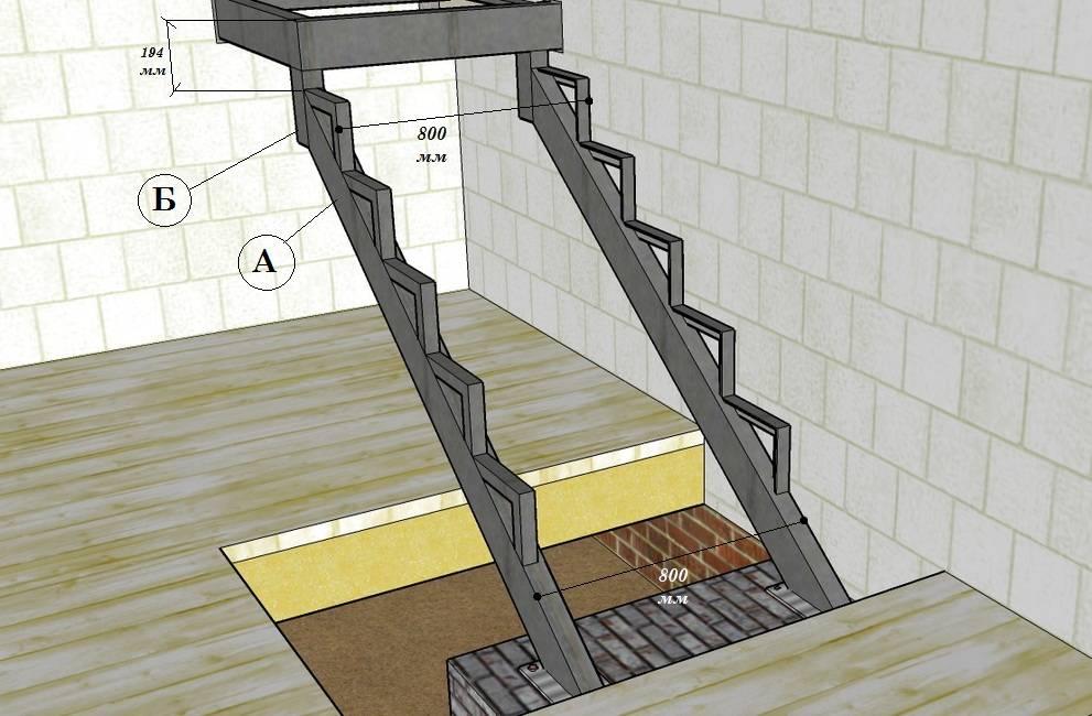 Как сделать лестницу в подвал собственноручно