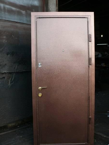 Установка металлической двери своими руками: поэтапная инструкция