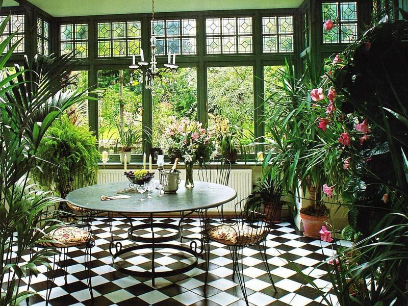 Зимний сад в частном доме | home-ideas.ru