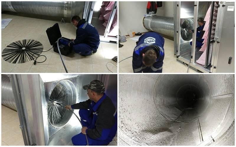 Оборудование для чистки вентиляции в многоквартирных домах