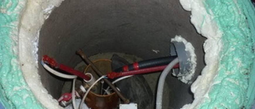 Зимний водопровод: как утеплить трубу с водой от скважины