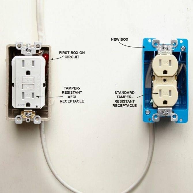 Что делать если 2 розетки соединенны между собой через стенку?