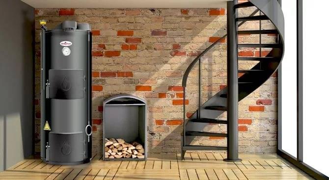 Преимущества и недостатки отопления дома дровяной печью