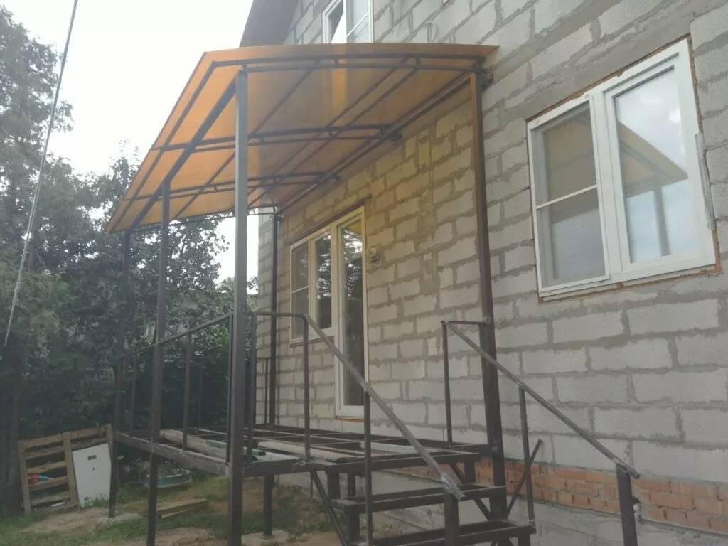 Крыльцо дома своими руками: поэтапная пристройка к дому
