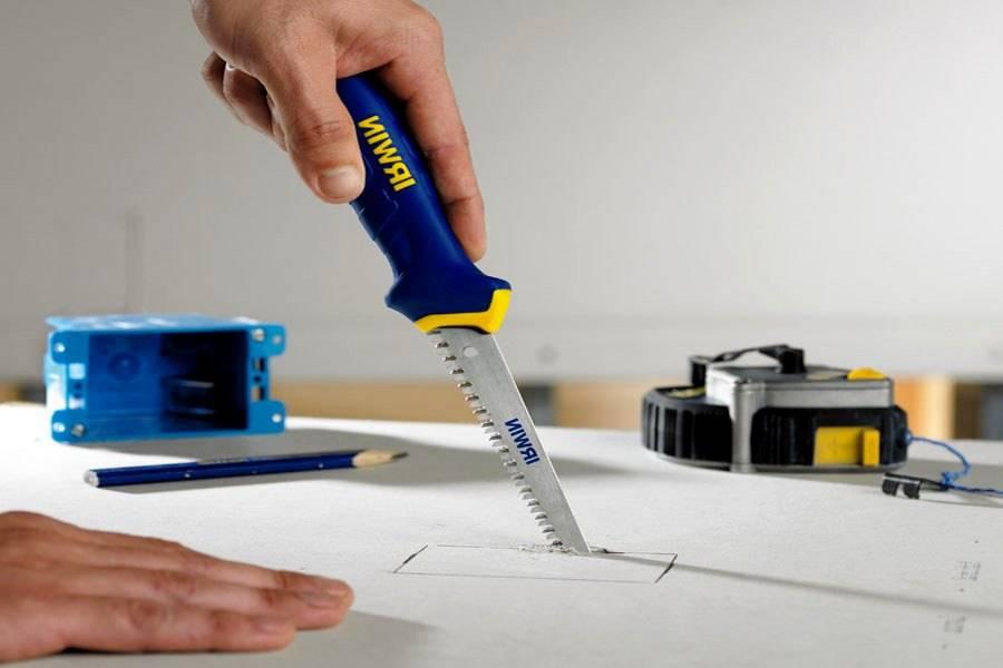 Чем резать гипсокартон в домашних условиях: как обойтись без дорогого профессионального оборудования