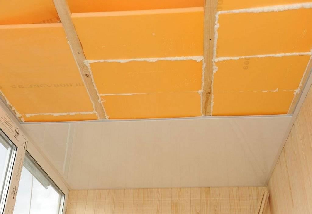 Отделка балкона пластиковыми панелями на примере (32 фото)