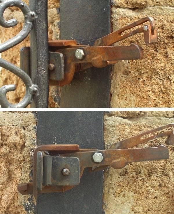 Как врезать замок в калитку из профнастила - всё о воротах и заборе