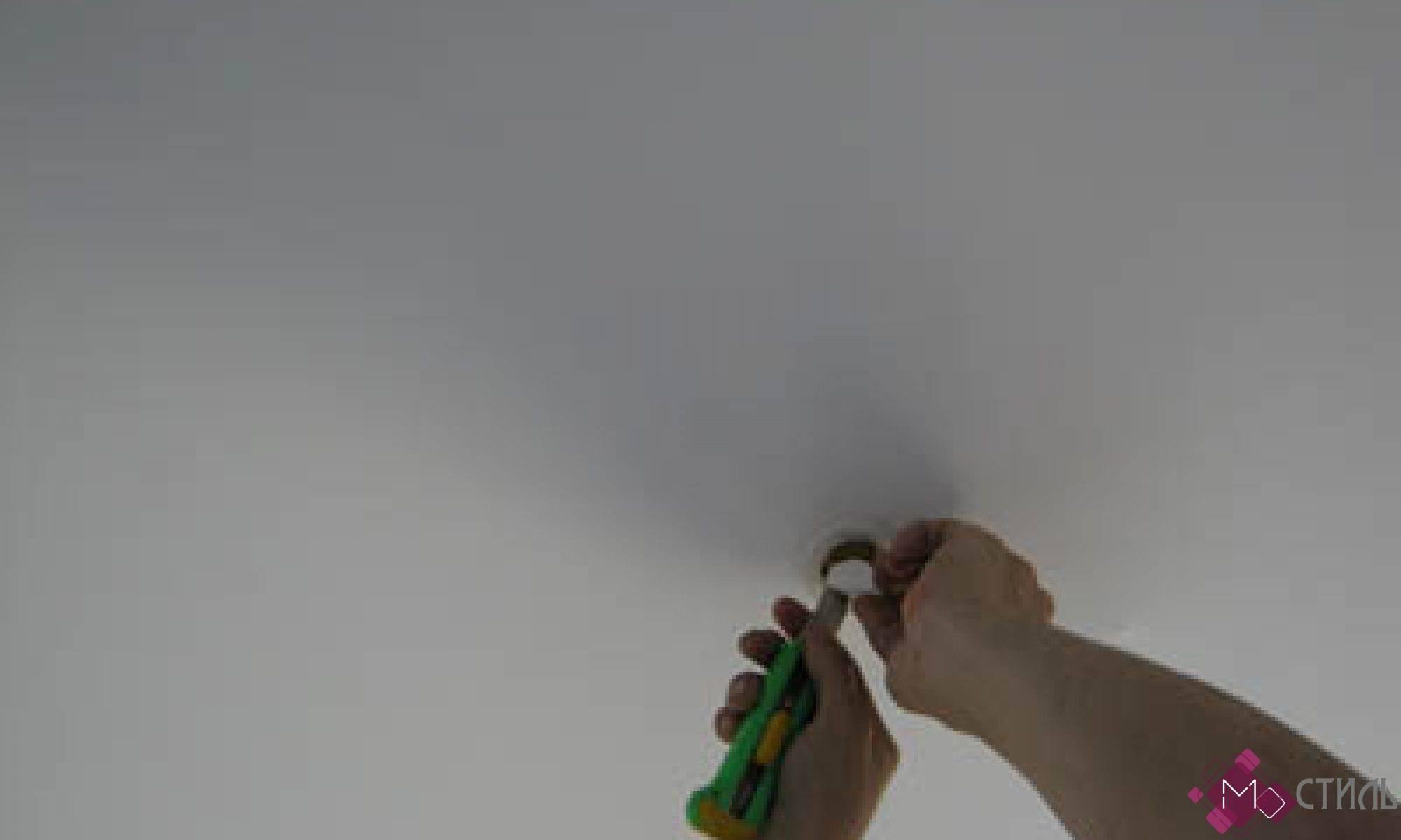 Как снять натяжной потолок своими руками – демонтаж натяжного потолка