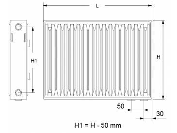 Что такое межосевое расстояние в радиаторах отопления: видео-инструкция по выбору своими руками, особенности биметаллических изделий высотой 250, 450 мм, цена, фото