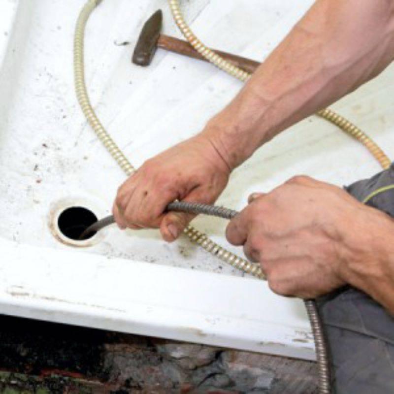 Трос для прочистки канализации своими руками: видео-инструкция