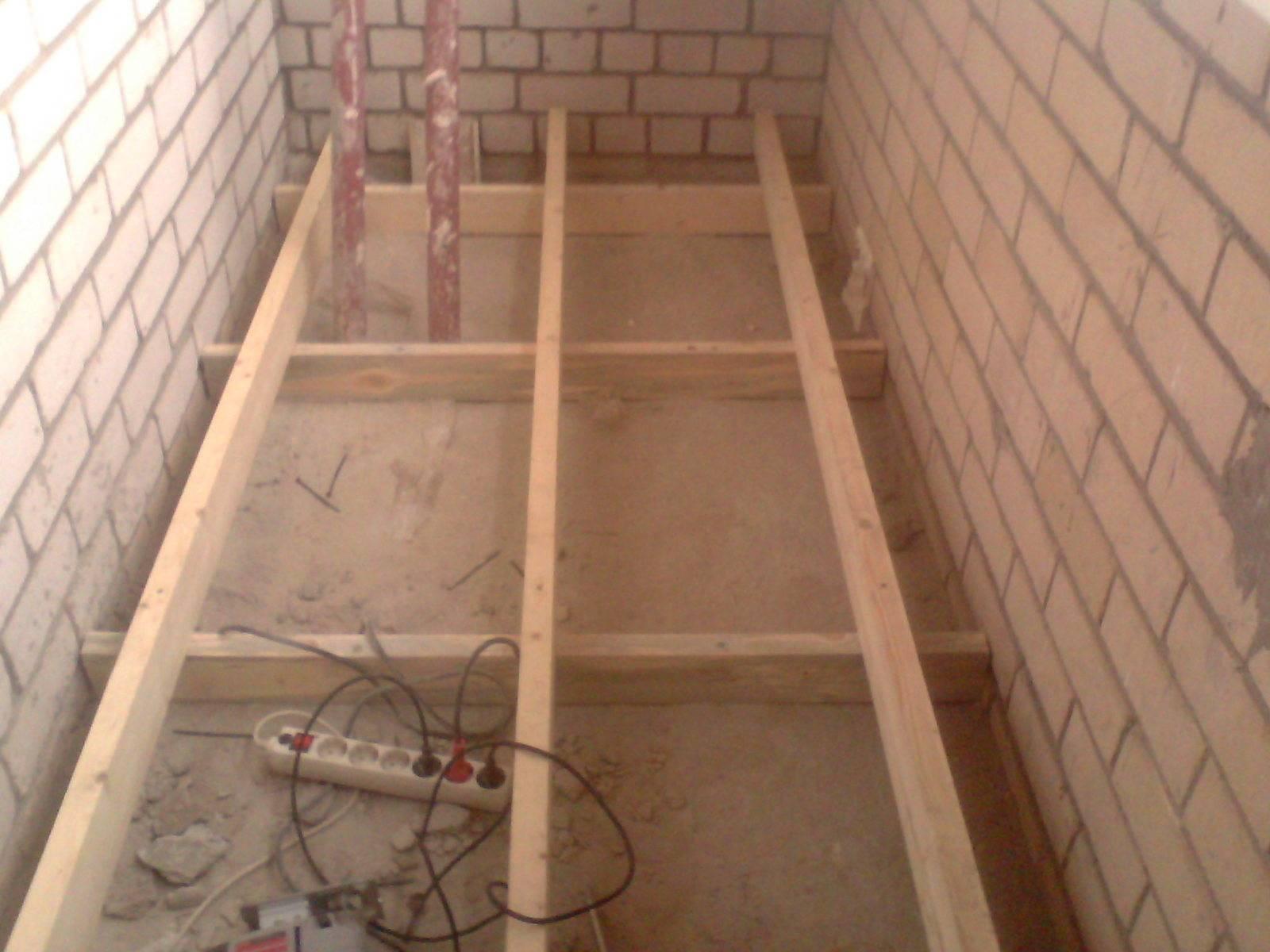 Теплый пол на балконе (105 фото): как поднять деревянный пол на лагах на лоджии, какой лучше