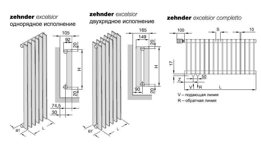 Радиаторы отопления zehnder: цены отзывы, характеристики стальных трубчатых батарей