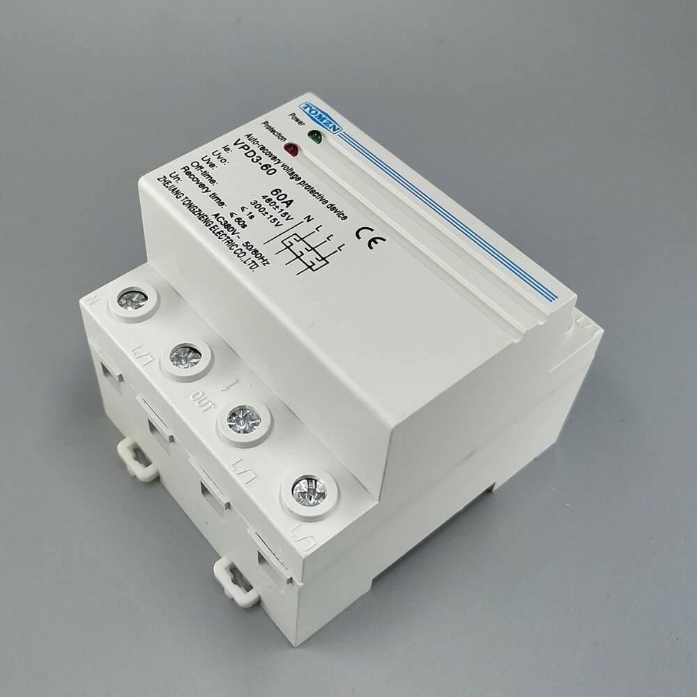 Реле контроля фаз: устройство, принцип работы, технические характеристики и схема подключения