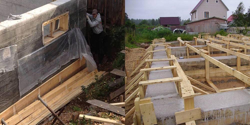 Опалубка для бетона: виды опалубки, правила заливки, сроки снятия