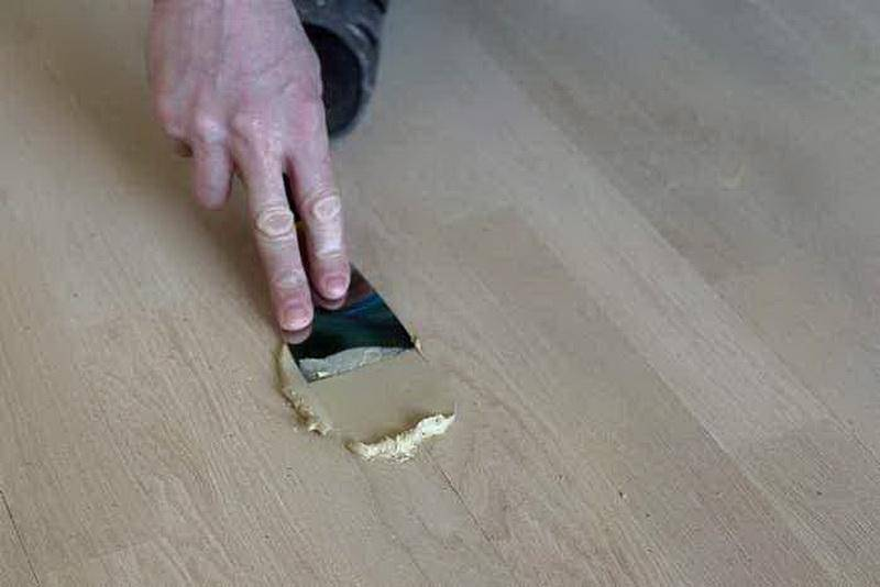 Как зашпаклевать деревянный пол своими руками