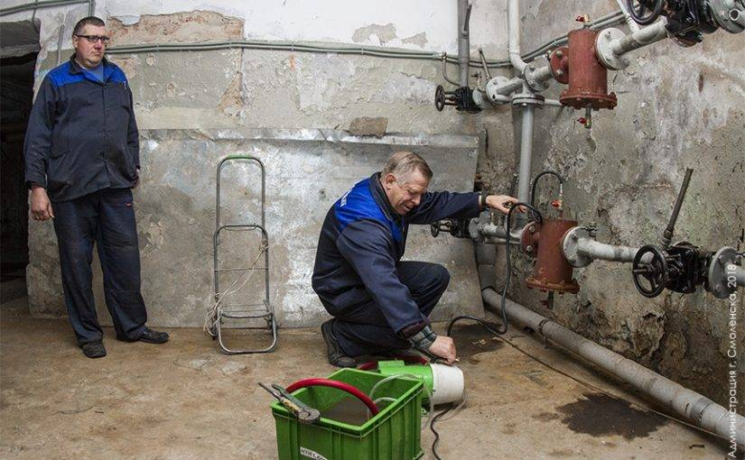 Гидростатический метод испытания трубопроводов