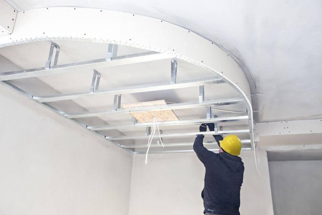 Потолок из гипсокартона своими руками (85 фото): как сделать - пошаговая инструкция, монтаж подвесной конструкции