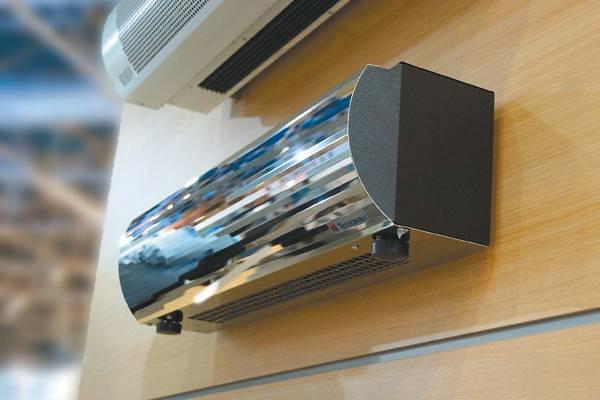 Тепловая завеса на входную дверь: воздушно тепловая завеса, обзор моделей и цен