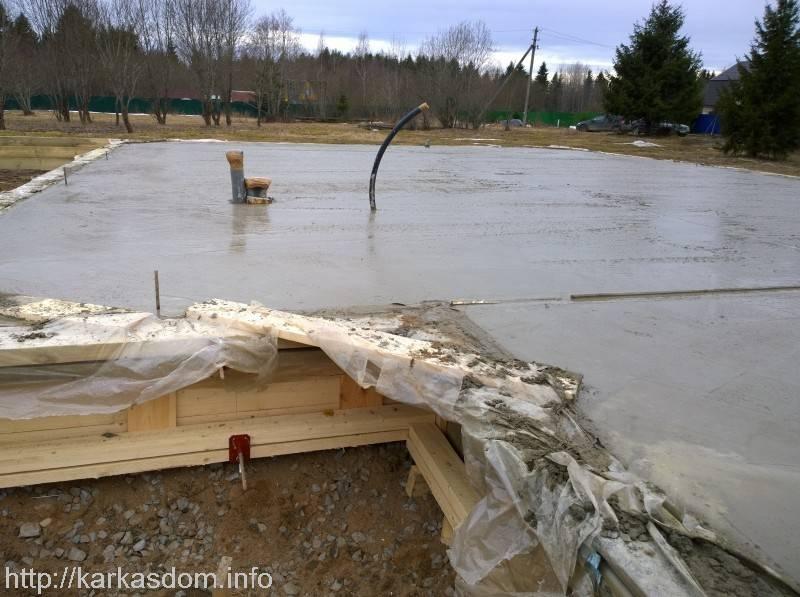 Сколько должен стоять фундамент после заливки бетона или когда начинать постройку дома