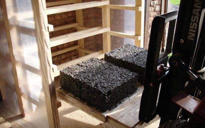 Арболитовые блоки своими руками: делаем арболитовые блоки самостоятельно в домашних условиях