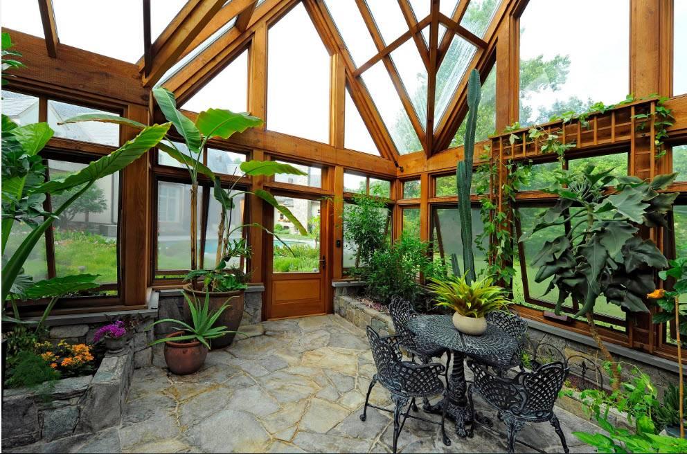 Зимний сад в частном доме: как сделать своими руками, рекомендации по созданию с фото