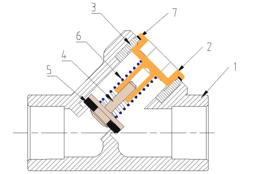 Обратный клапан для водопроводной системы, для чего и почему - vodatyt.ru