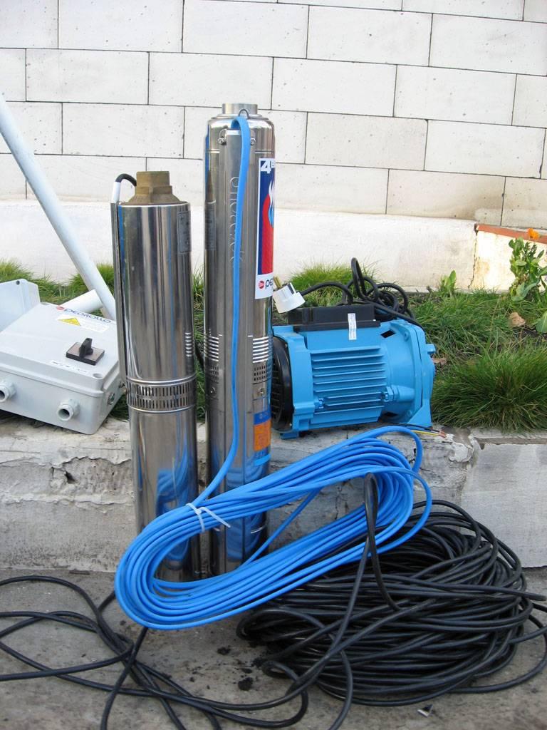Глубинные насосы для скважин водолей: преимущества, особенности, виды и отзывы