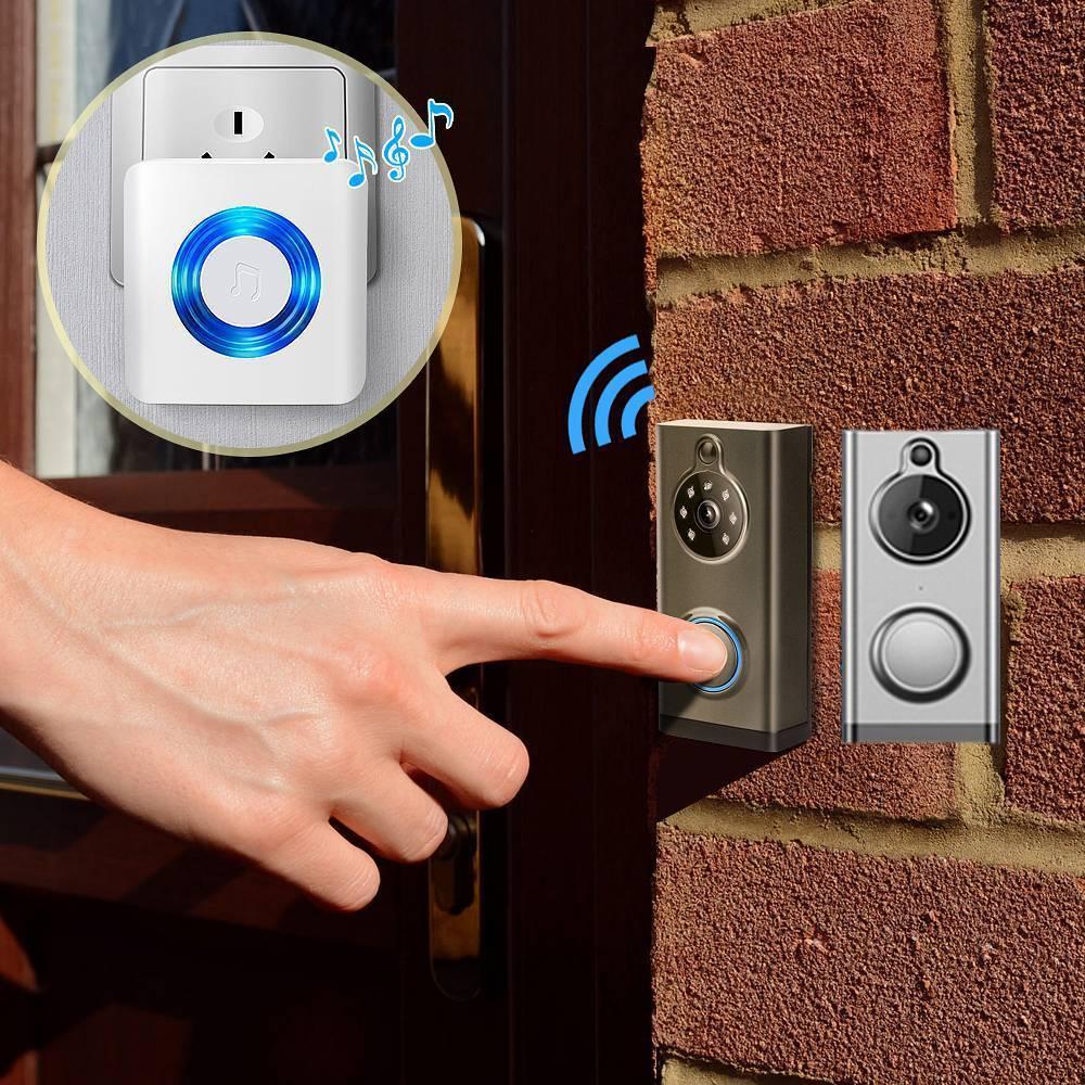 Уличный влагозащищенный звонок: выбор наружной влагозащищенной кнопки для беспроводного и проводного звонка, с двумя динамиками и другие