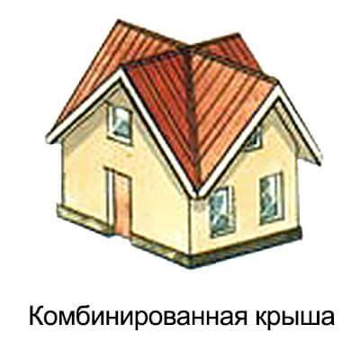 Устройство многощипцовой крыши