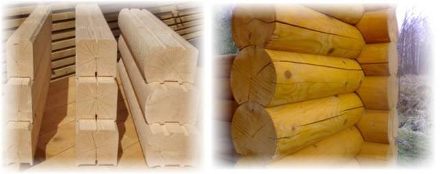 Выбираем: какая баня лучше из бруса или бревна? разница есть!