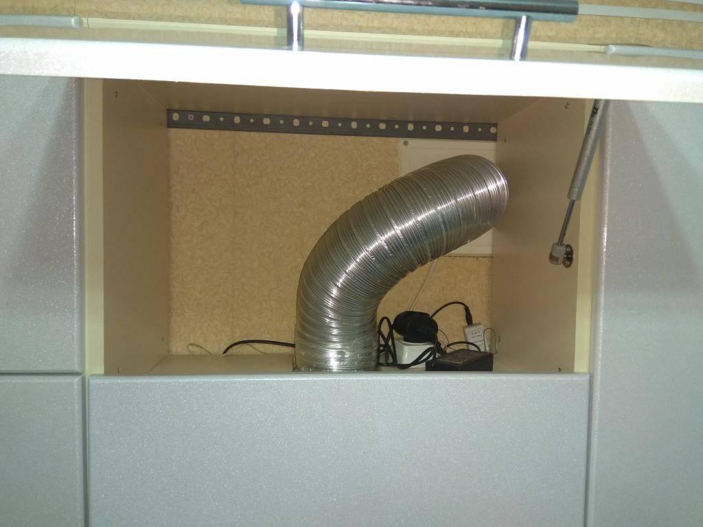 Установка и подключение вытяжного вентилятора своими руками