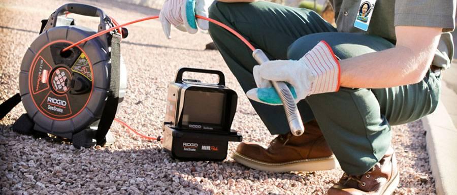 Телеинспекция канализации | все о септиках