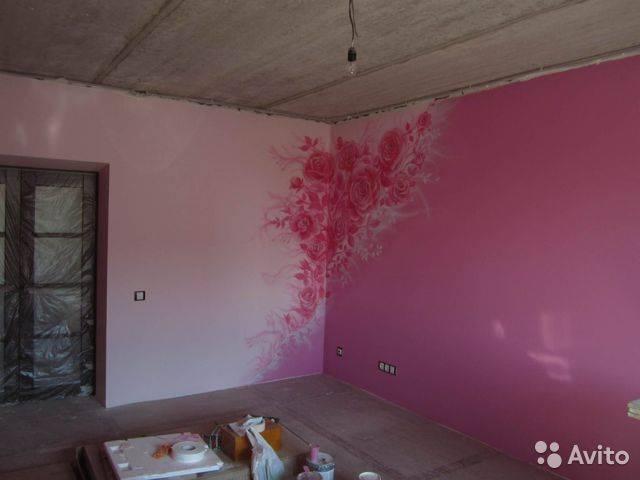 Идеи покраски стен водоэмульсионной краской