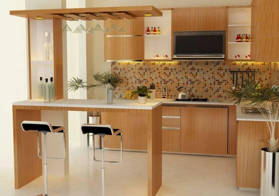 Интерьер кухни в частном доме: проекты оформления своими руками