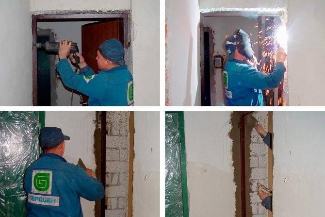 Установка входных дверей - монтаж металлических ( железных) и деревянных конструкций своими руками