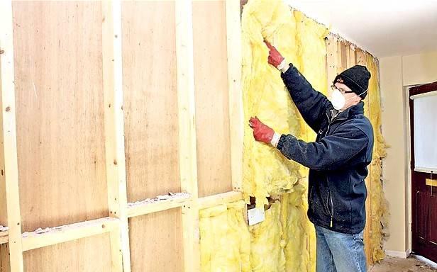 Утепление стен изнутри в угловой квартире