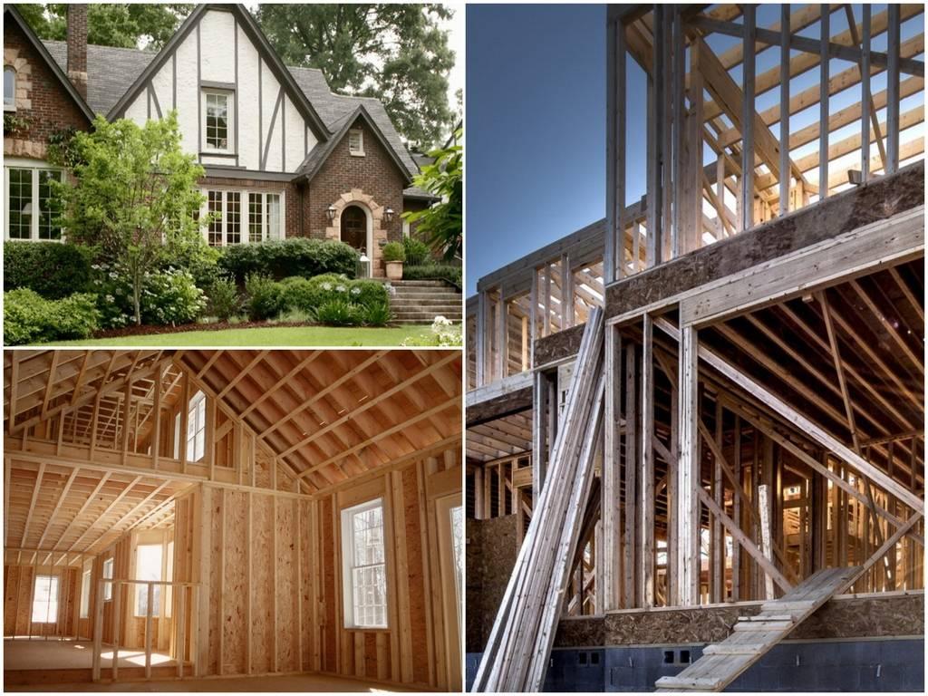 Из чего строить дом для постоянного проживания: обзор материалов