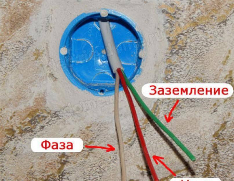 Какого цвета провод заземления в трехжильном проводе