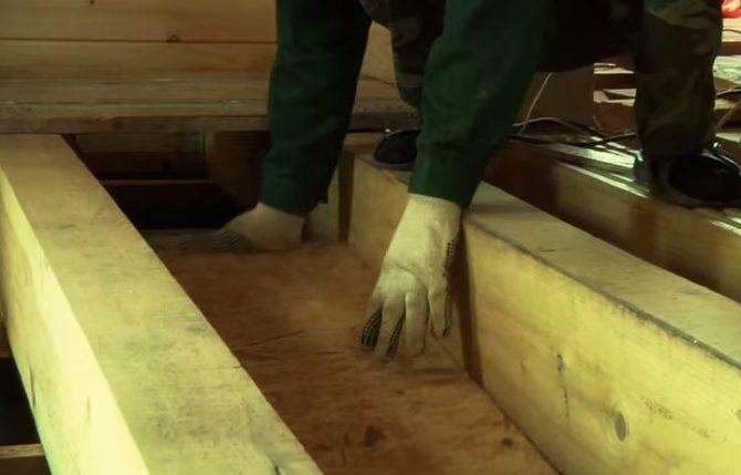 Черновой пол из осб плиты - основные тонкости и порядок сборки