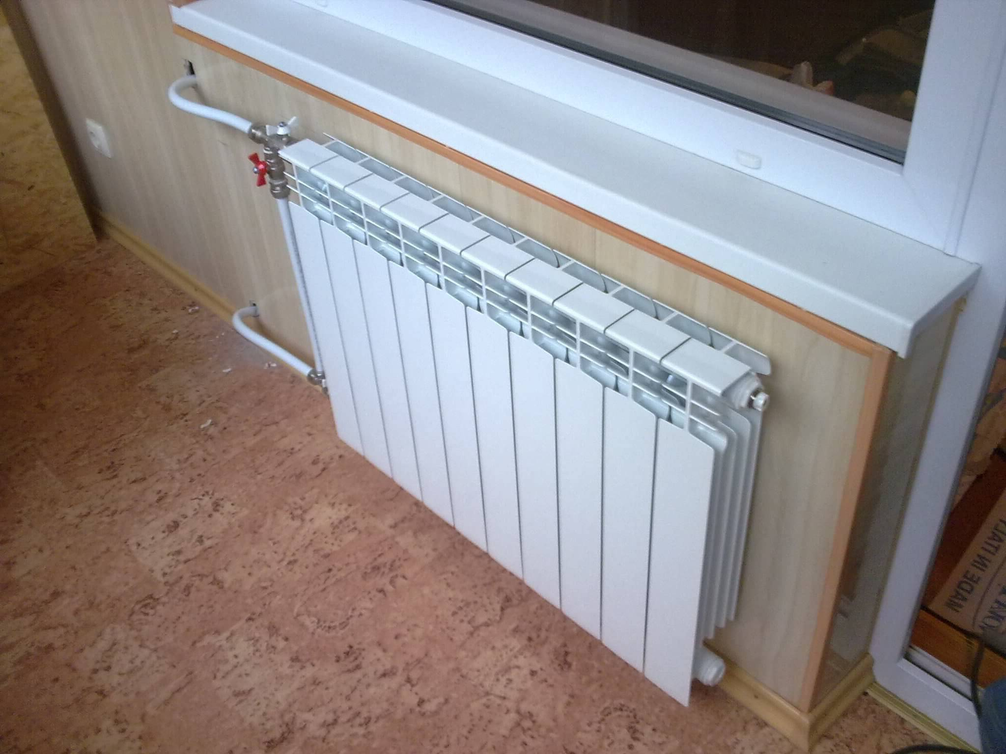 Можно ли выносить батарею на балкон - клуб мастеров