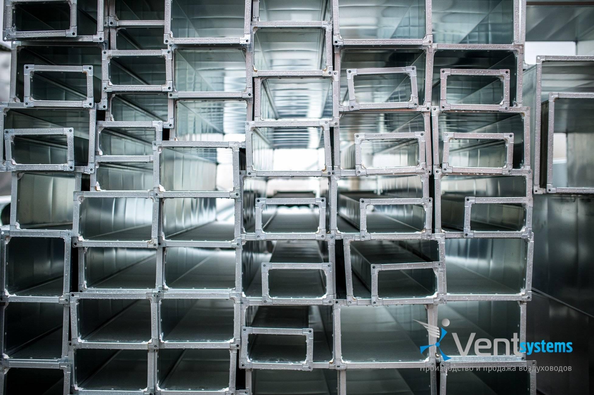 Вентиляционные трубы: воздуховод для вентиляции металлический, размеры, какие лучше