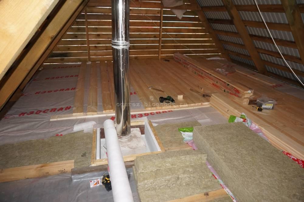 Как правильно утеплить потолок под холодной крышей своими руками: материалы и пошаговое руководство + фото
