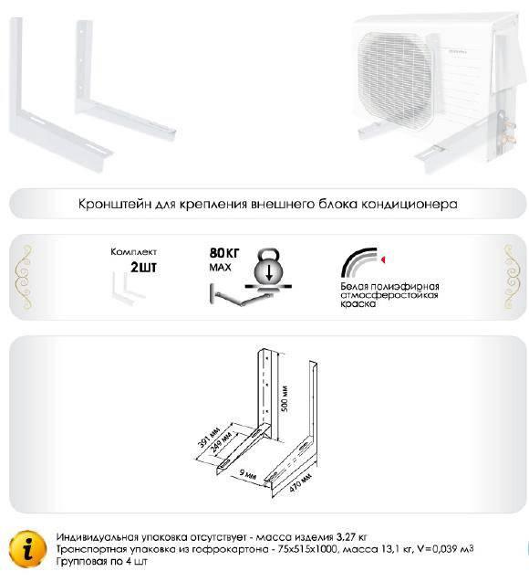 Комплект для установки кондиционеров: монтажный набор, инструменты и их классификация, инструкция по монтажу
