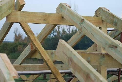 Способы установки стропил двухскатной крыши - клуб мастеров