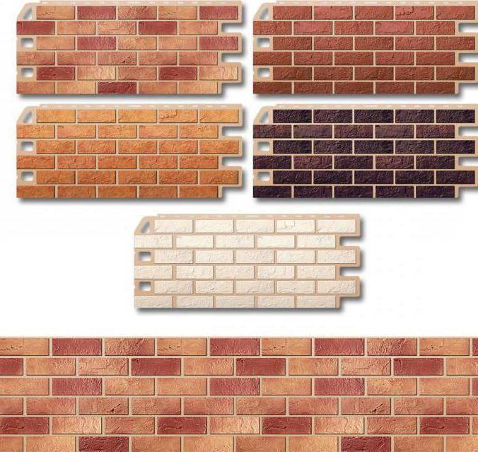 Фасадные панели под кирпич: особенности материала для внешней отделки