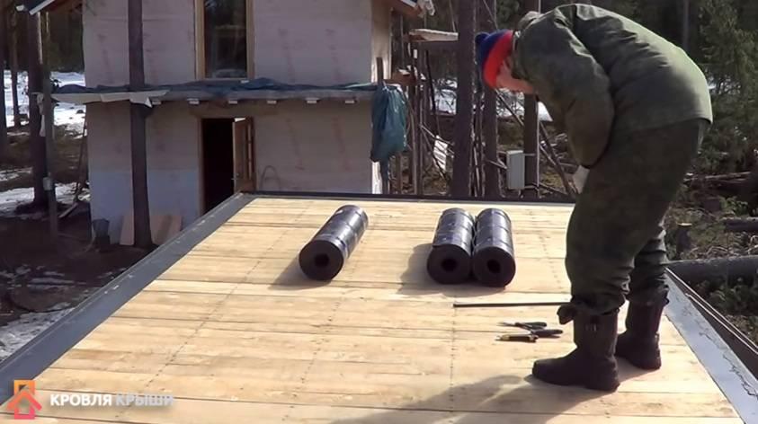 Как покрыть крышу гаража рубероидом правильно своими руками – пошаговая инструкция