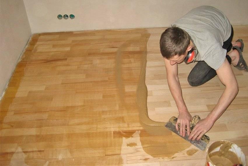 Как выровнять деревянный пол под ламинат: выравнивание своими руками, чем можно выровнять старый пол, фото и видео