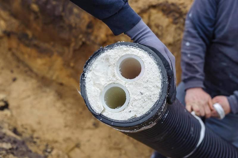 Утеплитель для труб в земле: сравнительная характеристика минеральных и полимерных материалов